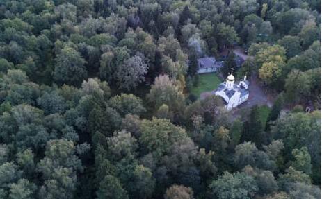 纳粹飞行员空拍照藏线索:俄史学家找到万人冢