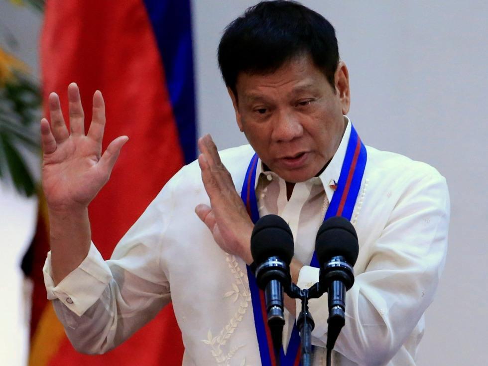 菲律宾高官:总统杜特尔特确认没有患癌症