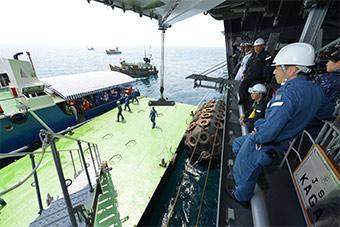 日本印度举行海上联合演练 加深双方沟通