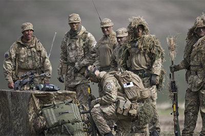 英国军演首次动用无人机  演练与俄军作战