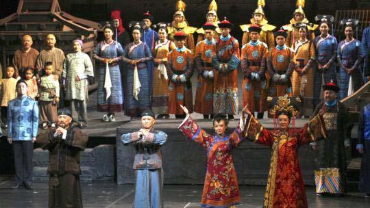 国庆假期国家大剧院红色题材演出受欢迎