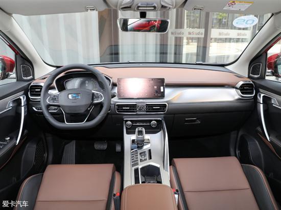 吉利缤越将本月底正式上市 配智能驾驶