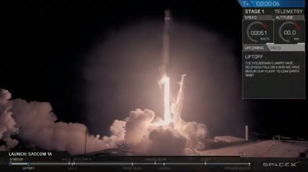 SpaceX火箭首次在西海岸完成地面回收