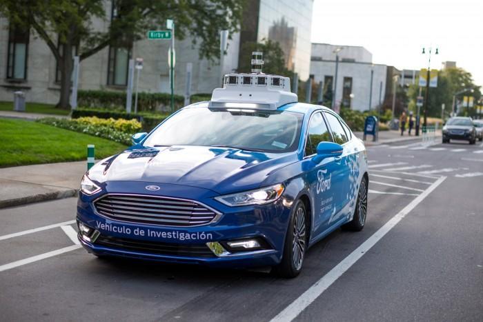 福特新专利有望把自动驾驶汽车控制变成移动游戏