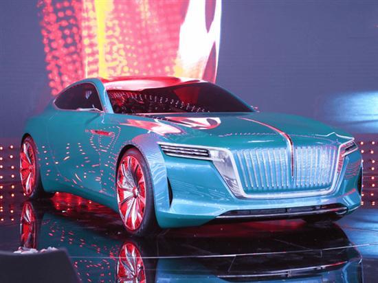 红旗新车造型设计 由英国人主导-在德国完成