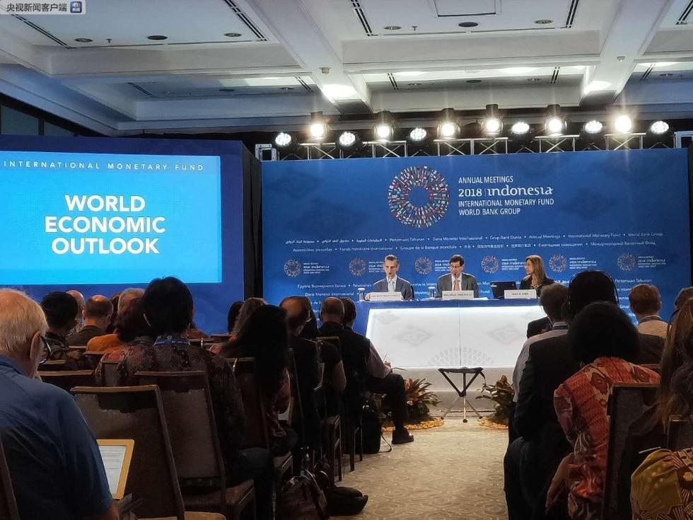 国际货币基金组织发布《世界经济展望报告》 下调全球经济增长预期