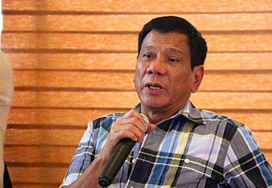 菲总统:不会参加美军在南海、台湾海峡的军演
