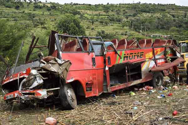 肯尼亚发生一起严重交通事故 至少50人死亡