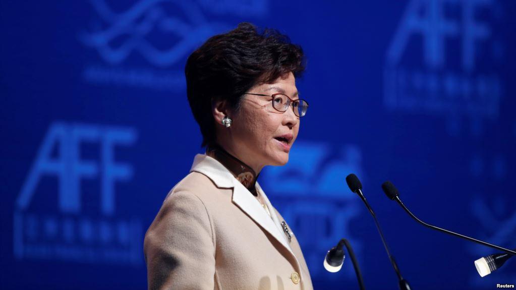 林郑月娥发布施政报告:积极推动基本法23条立法