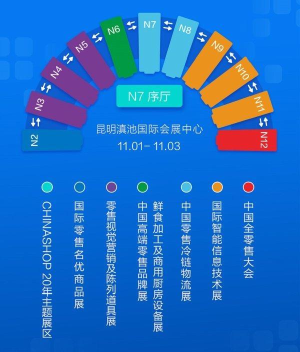 第二十届中国零售业博览会20天后将亮相春城昆明