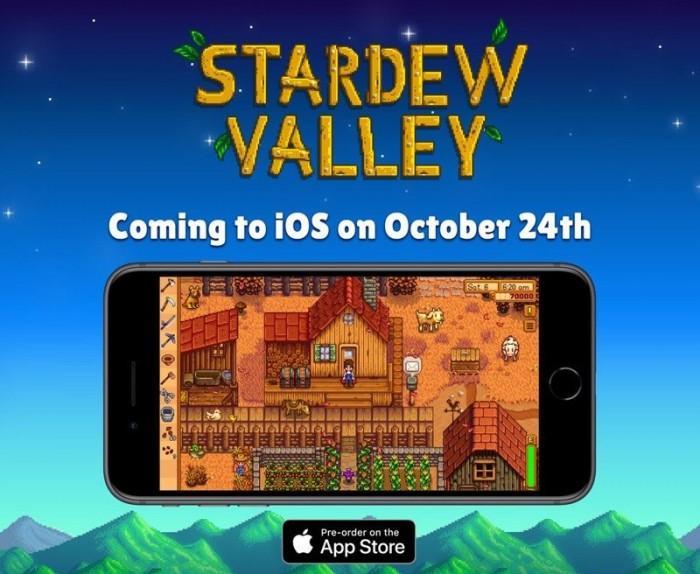 《星露谷物语》10月24日登陆iOS 可继承存档
