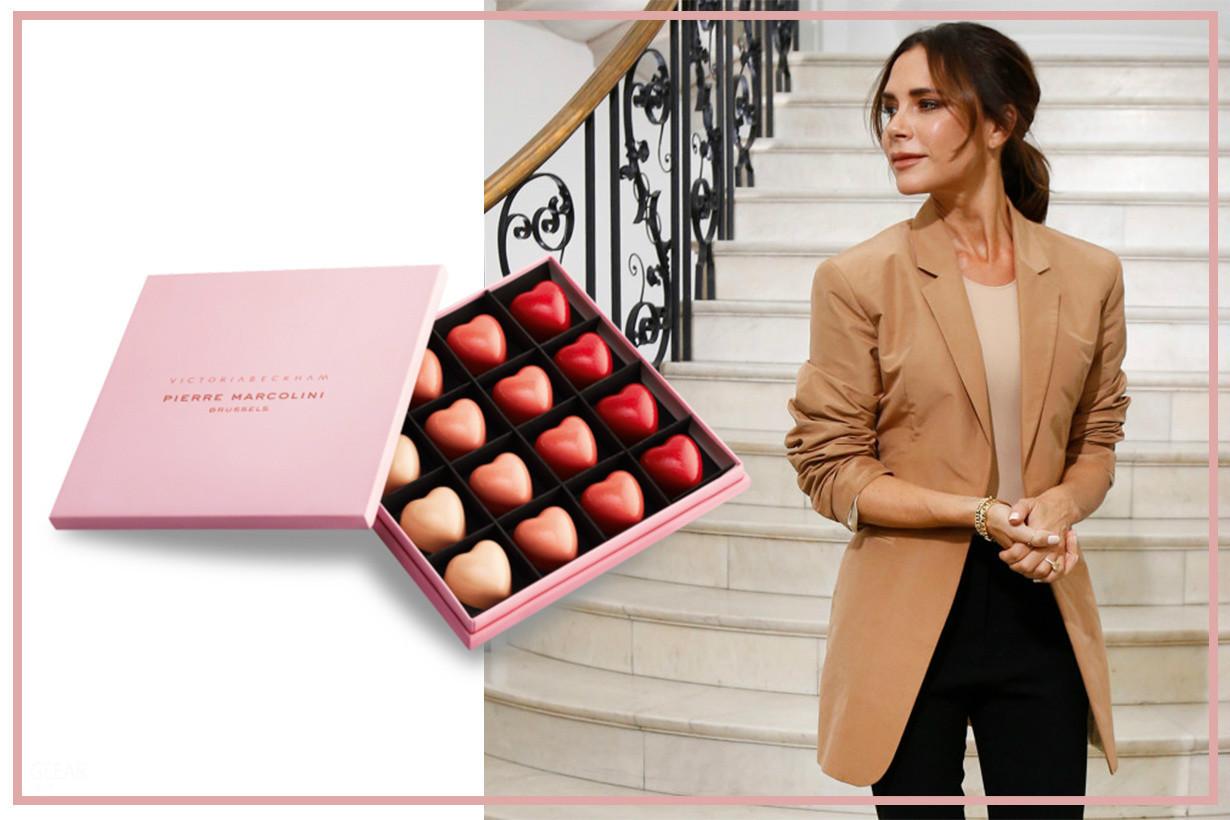 贝嫂化身甜品大师!你想品尝她手工制作的十周年限量版巧克力吗?