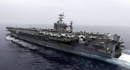 北约20年最大规模军演将至 美航母