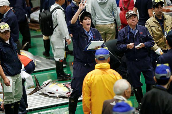 日本:取代东京筑地市场 全新丰洲市场开业迎客
