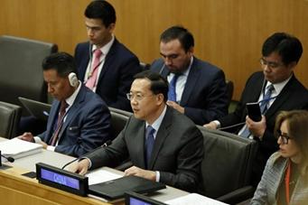 中国代表:联合国预算资金使用应更加重视全面绩效管理