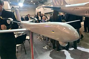 基辅防务展安东诺夫展示最新大型无人机模型