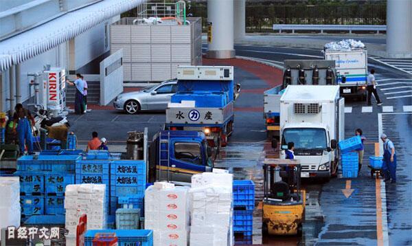 食品流通迎来转型期,日本东京丰洲市场瞄准世界