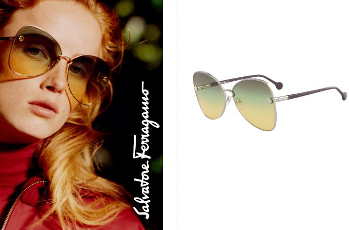 """Salvatore Ferragamo """"Fiore"""" 太阳眼镜系列 精致细节与时尚色调的完美结合"""