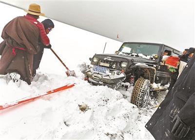 大雪袭击纳木错 滞留游客全部撤离