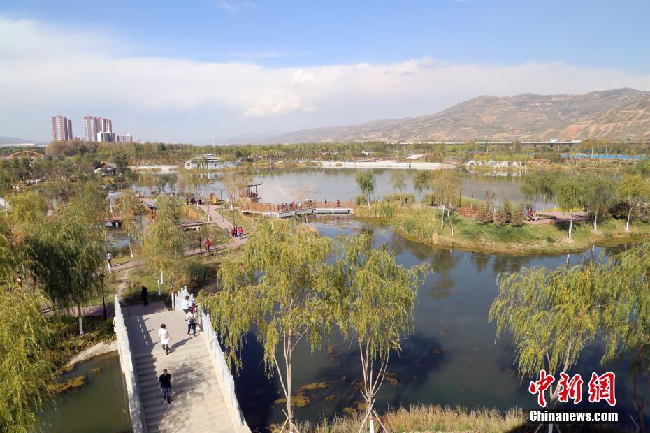 探访西宁北川河湿地公园