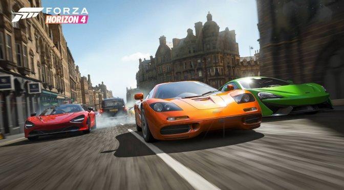 《极限竞速:地平线4》首周玩家数量即超过200万人