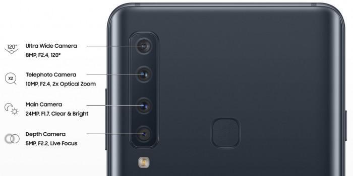 evleaks曝光Galaxy A9后置四摄像头规格详情