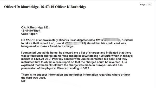 男子卡未离身却在法国被刷400欧 银行2年未处理完