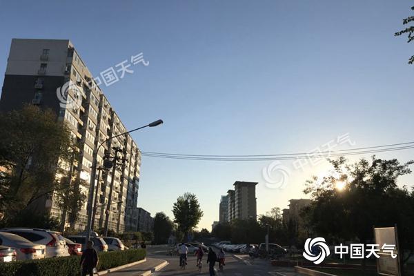 """未来三天北京秋高气爽宜""""赏红""""  周日最高温升至22℃"""