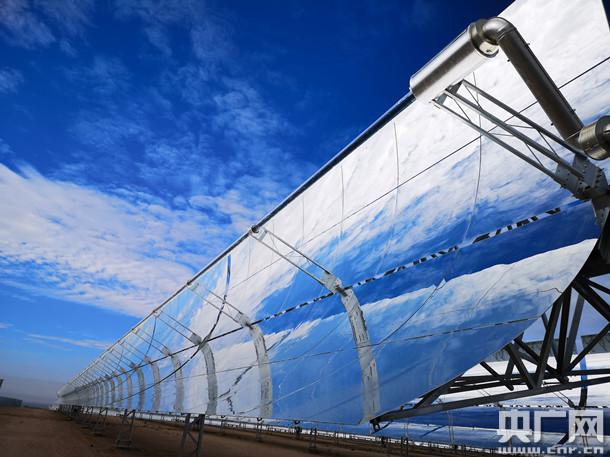 我国首个大型太阳能光热示范电站正式投运 年发电量可达近2亿度