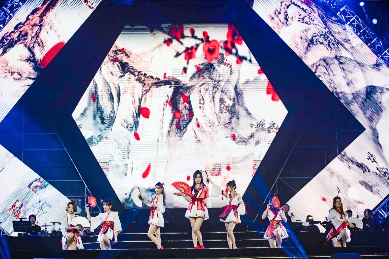 国风音乐盛典盛大开幕 SING女团现身惊喜不断