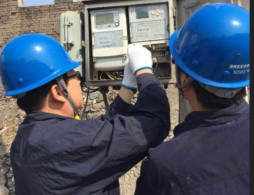 """国网武安市供电公司为环保项目""""添动力"""""""