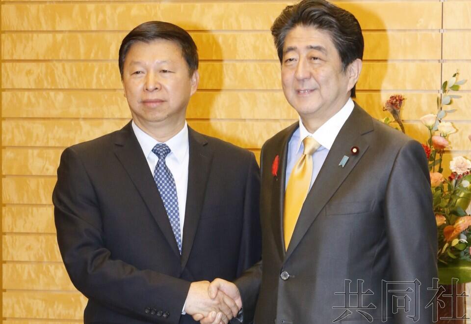 日媒:安倍会见中共中央对外联部部长宋涛