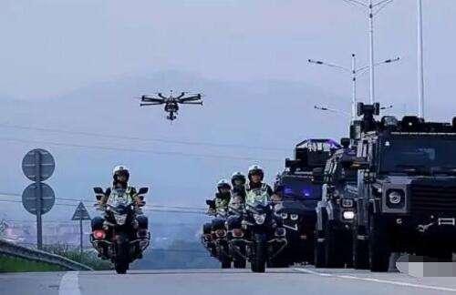 台媒:大陆无人机技术发达 警方用其高效攻坚和救援