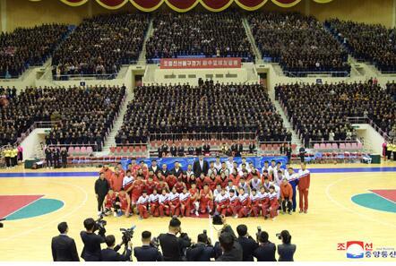 投资网赚广告词:中朝男篮混合赛11日在平壤举行 双方130