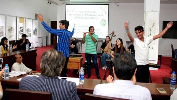 中国与巴基斯坦联合举办音乐家交流论坛