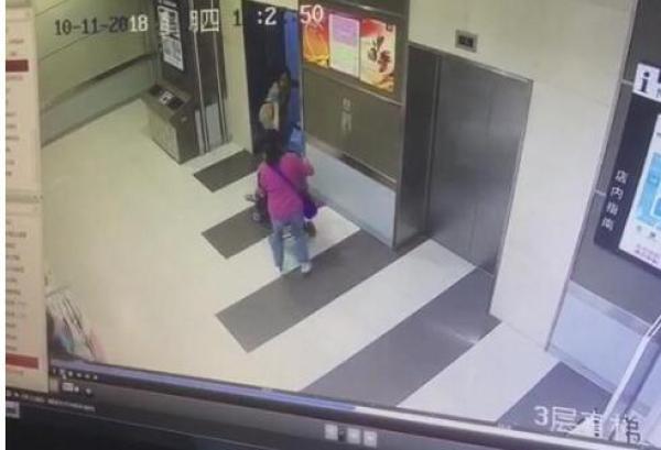 """武汉警方通报""""陌生女欲推女童进电梯"""":高度近视认错外孙女"""