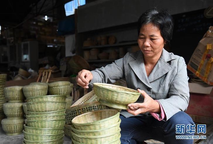 竹编产业助增收