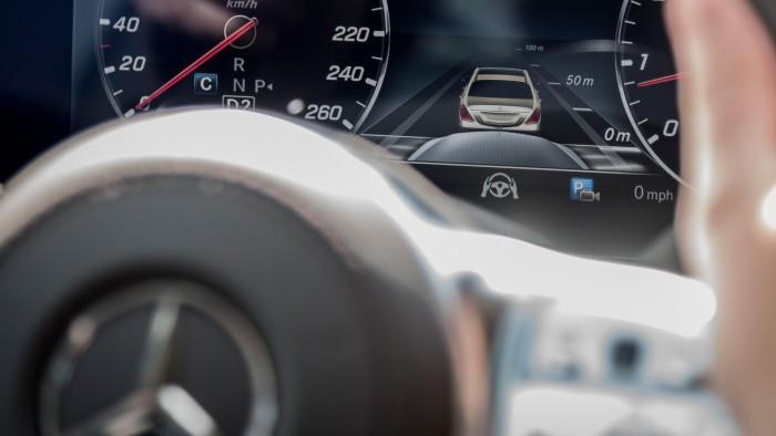 奔驰全新S级轿车2020年上市 将具备自动驾驶能力