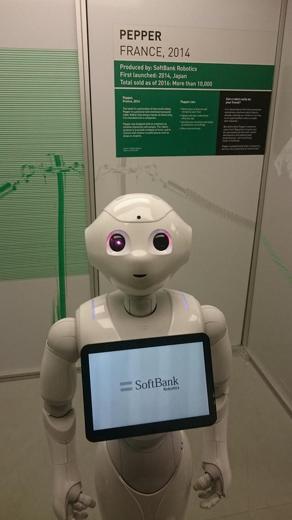 英国议会传召机器人Pepper作证人证引发轰动