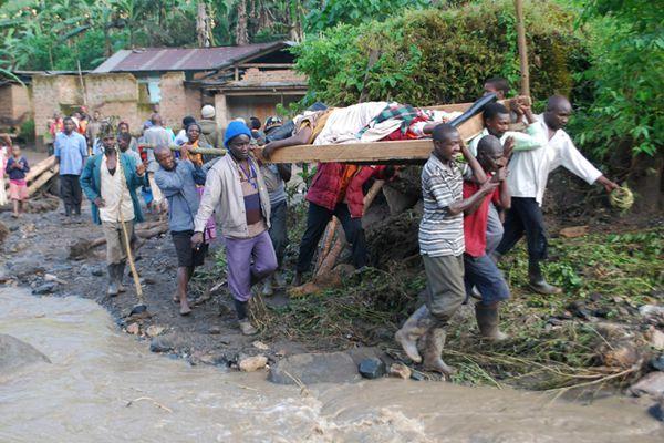 乌干达东部发生山体滑坡 已致35人遇难