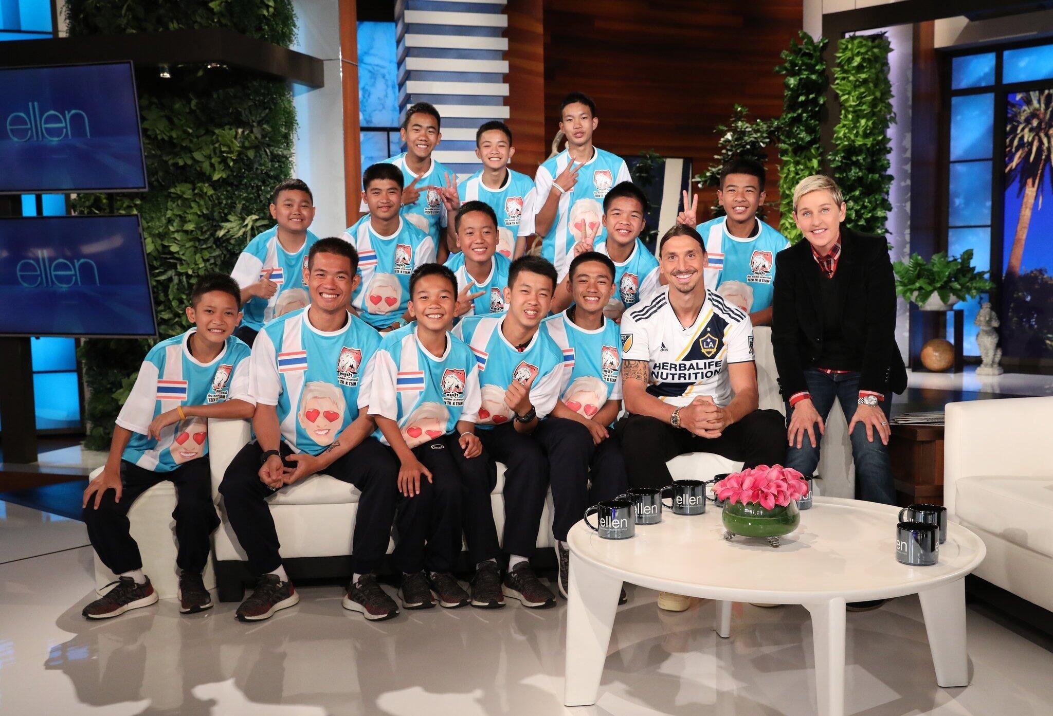 泰国野猪足球队行程满满!近日赴美录制脱口秀节目