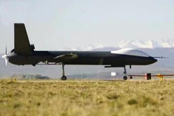 中国彩虹-5察打一体无人机高原试飞场景曝光