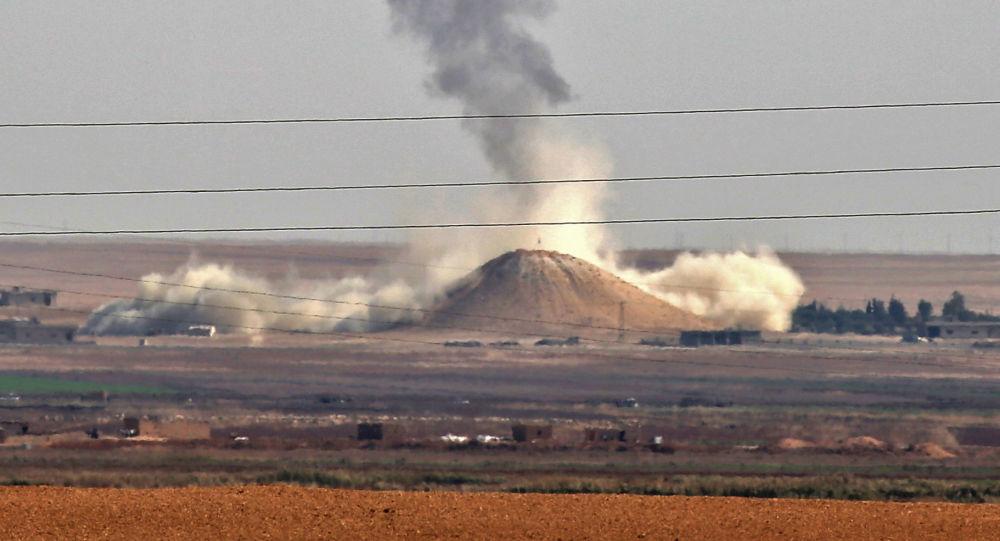 俄议员:美国要为在叙使用白磷弹实施打击负责