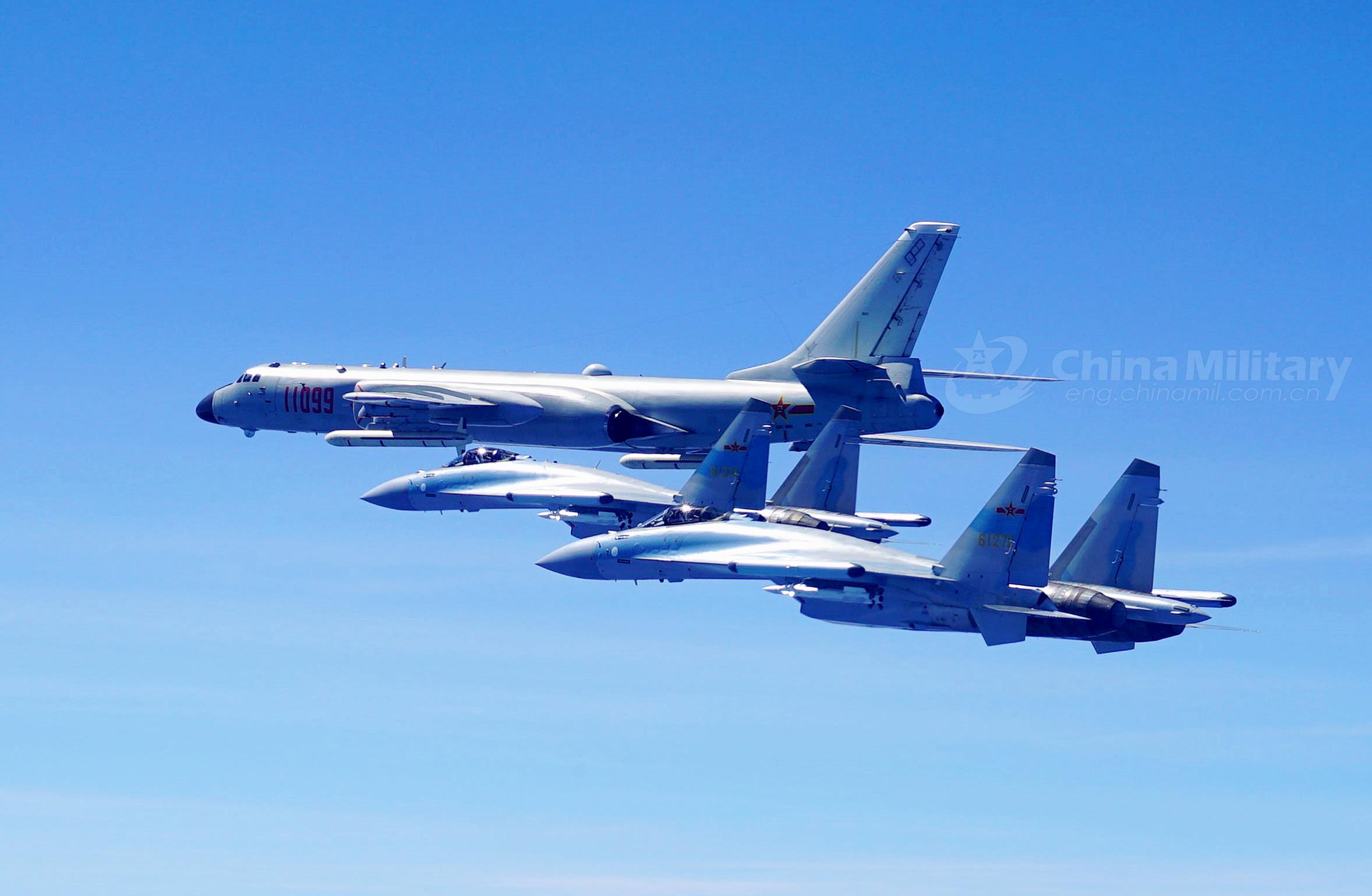 美媒称中国部署轰6J轰炸机 作战范围覆盖南海