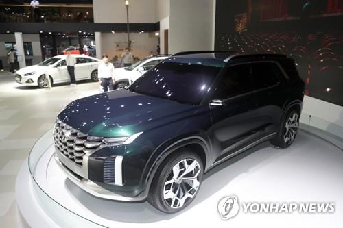 现代宣布11月在韩发布全新大型SUV