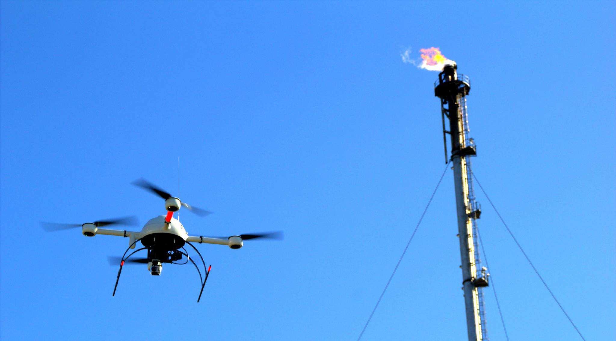 智能油田建设:无人机巡检带来的幸福时光