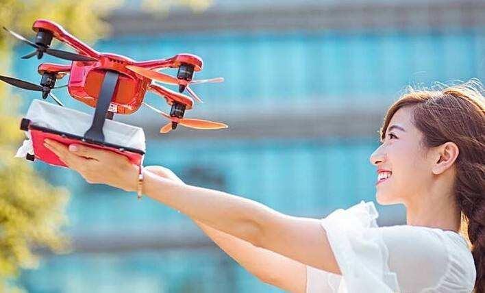 日本乐天用无人机拯救阿宅 运送成本比卡车便宜?