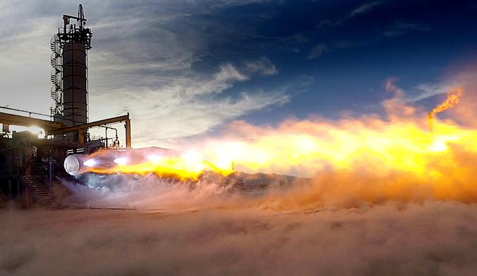 贝索斯火箭公司分得美空军大单 预计2024年完成研发