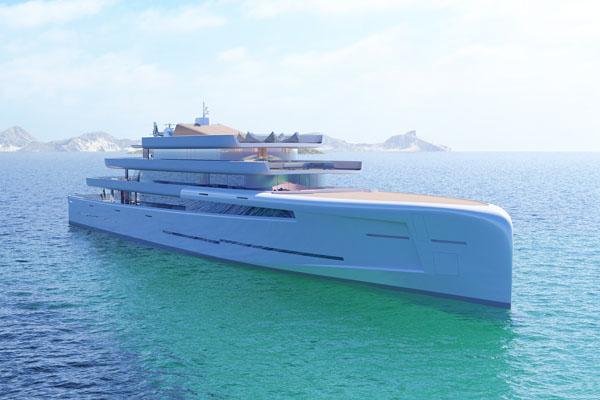 """超级游艇耗资2亿英镑 可""""隐形""""保护富翁隐私"""