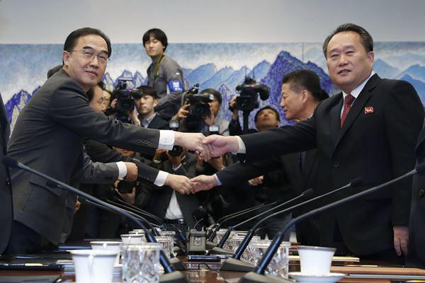 朝韩高级别会谈举行 讨论《9月平壤共同宣言》落实方案